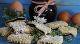 Biscotti di frolla farciti alla marmellata – senza stampo superfacili