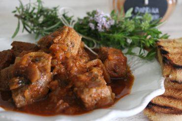 Gulasch – spezzatino di carne alla paprika